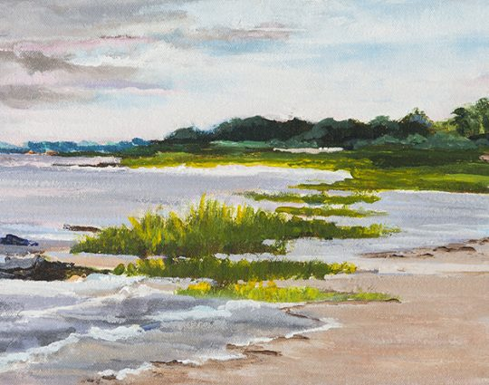 St. Joe Beach II, Oil on Canvas